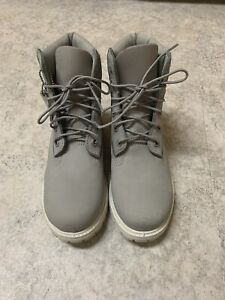 Timberland Boots, Ivory, Limited Edition Size 6.5 Women's