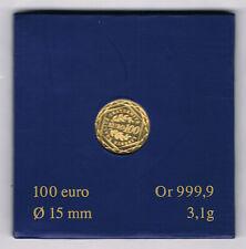 FRANCE MONNAIE OR 999,9 ‰ 100 EURO SEMEUSE 2009 BE 3,10 grammes A4156.1