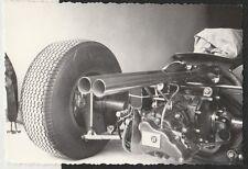 1964 MONZA Italiano GP BRABHAM CLIMAX MOTORE POSTERIORE SHOT ORIGINALE periodo Fotografia