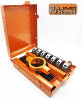 Coffret C9180 jeu de filières à main métriques HSS : M3 M4 M5 M6 M8 M10 M12