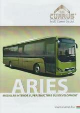 CURRUS ARIES 2015 HUNGARIAN ARMY MILITARY BUS ON VOLVO CHASSIS BROCHURE PROSPEKT