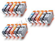 KIT 15 Cartucce per Canon CLI-521 PGI-520 PIXMA MP540 MP550 MP560 MP620 MX870