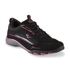 Everlast Sport Women's Layla  Athletic Walking Shoe  Black/Pink Sz 9 Medium
