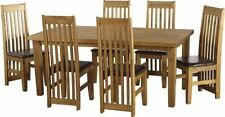 Pine Up to 6 Seats Table & Chair Sets with 4 Pieces