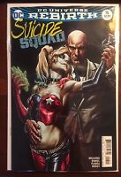 Suicide Squad issue #16 Lee Bermejo Variant NM 1st Print DC Rebirth