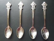 More details for vintage rolex spoons x4 st.moritz,zurich,zermatt and bern
