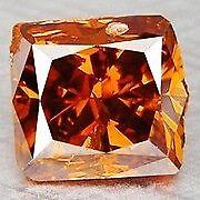 1.00 carat Natural Fancy Orange Diamond