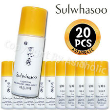 Sulwhasoo Essential Balancing Emulsion EX 5ml x 20pcs (100ml) Sample Newist Ver