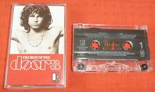 THE DOORS - UK CASSETTE TAPE - BEST OF THE DOORS (GREATEST HITS)