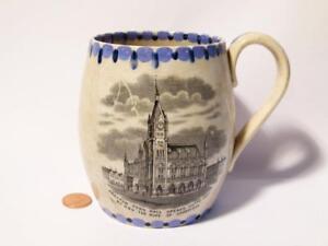 PRESTON TOWN HALL 1867 Opened HRH Duke Cambridgeshire Commemorative Mug