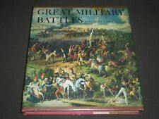 1964 GREAT MILITARY BATTLES EDITED BY CYRIL FALLS HARDCOVER BOOK - I 713