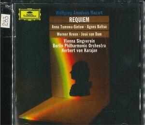 MOZART - Requiem (Karajan) e Sinfonia n.25 (Arigoni)