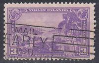 USA Briefmarke gestempelt 3c Charlotte Amalie Haupstadt Jungferninseln / 3928