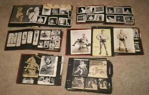 Amazing Collection of Early Professional Wresting Photos & Ephemera WWF WWE AWA