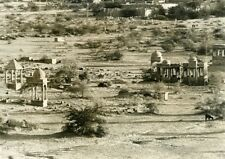 India Cemetery Architecture Old photo 1960