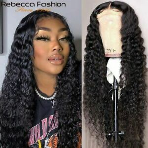360 Lace Frontal Human Hair Wig Deep Wave Curly Wigs Pre Plucked Brazilian Wigs