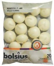 Bolsius 103632053705 Floating Candle Paraffin Wax Ivory 742875455973
