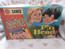 1969 AIRFIX GAMES PIN HEAD GAME 100% COMPLETE