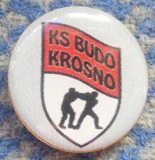 BUDO KROSNO POLAND KARATE KYOKUSHIN KYOKUSHINKAI BOXING CLUB PIN BADGE