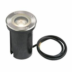 PILLAR Buried Round Uplighter - GU10 Ground Lights - Outdoor Waterproof IP65