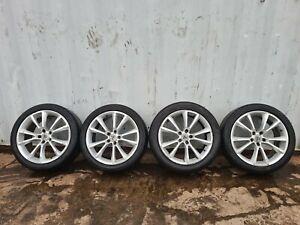 04-09 Vauxhall Astra H VXR Alloy Wheels & 245/40 ZR18 Tyres 5x110