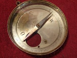 early 1900 K.RODE COMPASS IMPERIAL RUSSIA RUSSIAN PETERSBURG PETERBURG ANTIQUE