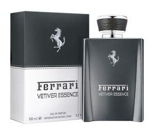 Ferrari 'Vetiver Essence' Eau De Parfum Spray 3.4oz/100ml New In Box