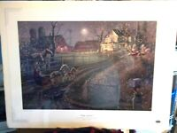 Pony Express by James Meger signed,numbered Pheasants Forever Print of the Year