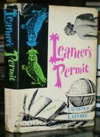 SIGNED TWICE, 1962, First Edition, LEARNER'S PERMIT, A NOVEL by LAURENCE LAFORE