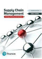 Supply Chain Management by Sunil Chopra 7e Int'l Paperback