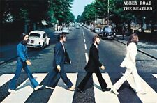 BEATLES - ABBEY ROAD POSTER - 22x34 - MUSIC 15893
