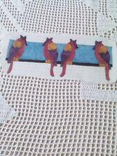 Window Color Bild Vogel Bordüre