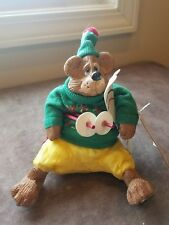 Kathleen Kelly The Country Folks Collection Mogul The Green Ski Bear Russ Berrie