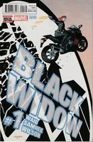 Black Widow #1 MARVEL COMICS 2ND Print COVER A MCU MOVIE ! RARE !