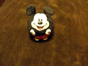 """Ty Disney Mickey Mouse 5"""" Beanie Ball Plush EUC"""