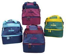 ACCLAIM Staple Mini Double Decker Two Tier Flat Green Bowling Bowls Bag