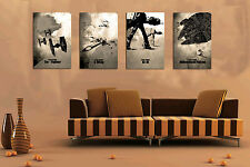 Original Not Framed 3pc Canvas Prints Home Deocr Wall Art Star Wars Inspired