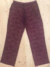 VICTORIA'S SECRET Dentelle Pyjama Pantalon Taille S 36-38 NOUVEAU Aubergine sexy Schlafhose