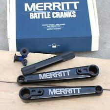 MERRITT BATTLE 3-PIECE 175MM BLACK BICYCLE CRANK