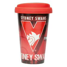 Sydney Swans AFL CERAMIC TRAVEL COFFEE MUG Birthday Work Bar Gift