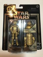 DISNEY STAR WARS GOLD C-3PO R2-D2 BB-8 Commemorative Edition Skywalker Saga 2019