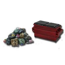 Armorcast 28mm Resin ACCS002 Garbage Pile & Dumpster (2 pieces) Modern Terrain