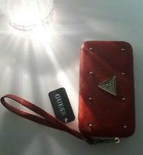 Guess Red Iphone 5 Wallet Purse pouch Case