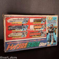 Vintage Takara Diaclone TRAIN ROBO DX 6 Giftset Pre-Transformers G1 Raiden