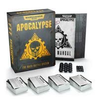 Warhammer 40,000: Apocalypse Core Set - Base Game - Brand New! 40-09-60