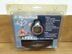 Nordic Track System 122 Apex Heart Rate Monitor NTHRAX4 Watch
