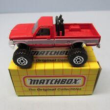 MATCHBOX Superfast 65G Ford F150 Pick-Up Red / White Stripe
