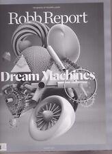 ROBB REPORT MAGAZINE AUG 2017, DREAM MACHINES, NO MAILING LABEL.