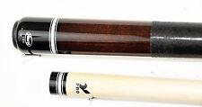 Viking 2pc Pool Cue Billiards custom new a268 Coffee Finish cues free Glove