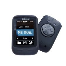 E-Volve Silicone Gel Skin Case for Garmin Edge Touring / Plus & Screen Pro - Blk